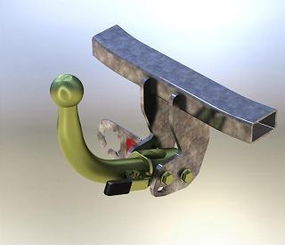 Tažné zařízení Citroen Jumper 06- ,odnimatelné
