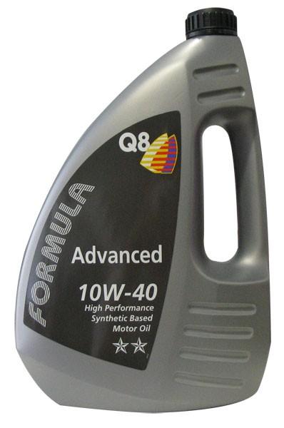 Motorový olej Q8 Formula Advanced 10W-40 4L