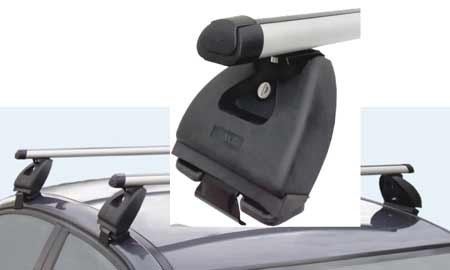 Střešní nosič pro Škoda Fabia II ALU pod dveře