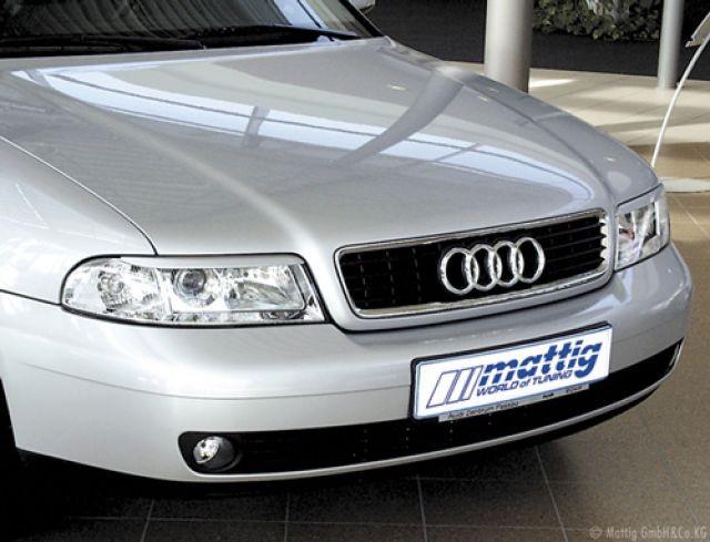Kryty světel (mračítka) Audi A4,Mattig