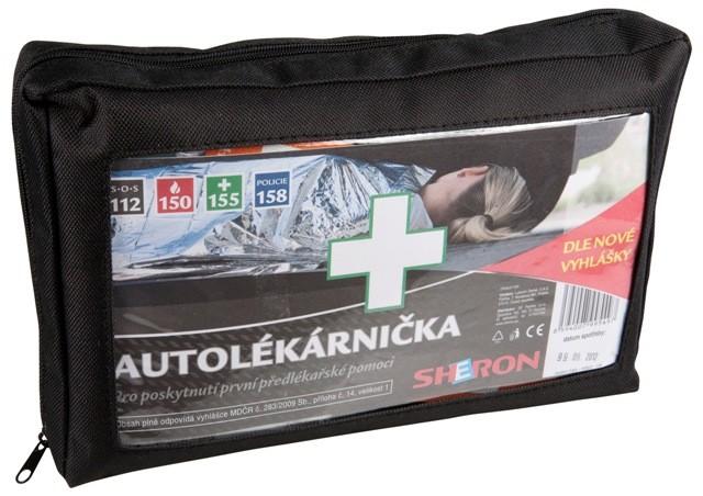 Autolékarnička dle nové vyhlášky MDČR č.216/2010 Sb