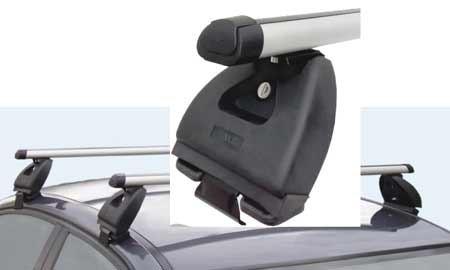 Střešní nosič ALU pro Renault Clio III combi 05-